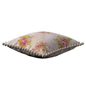 Wera dekoratyvinės pagalvėlės užvalkalas su žaismingais kraštais 45 x 45 cm kolekcijoje Flowers, audinys: 311-15