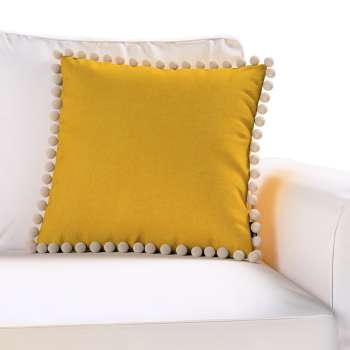 Wera dekoratyvinės pagalvėlės užvalkalas su žaismingais kraštais kolekcijoje Etna , audinys: 705-04