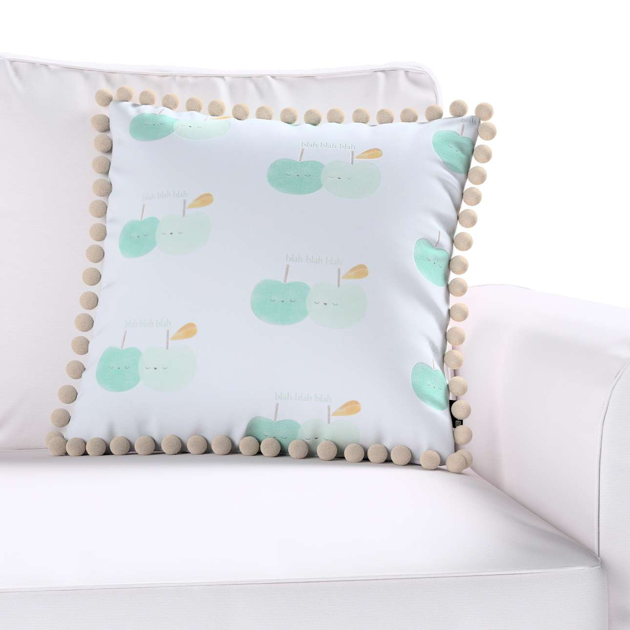 Poszewka Wera na poduszkę w kolekcji Apanona do -50%, tkanina: 151-02