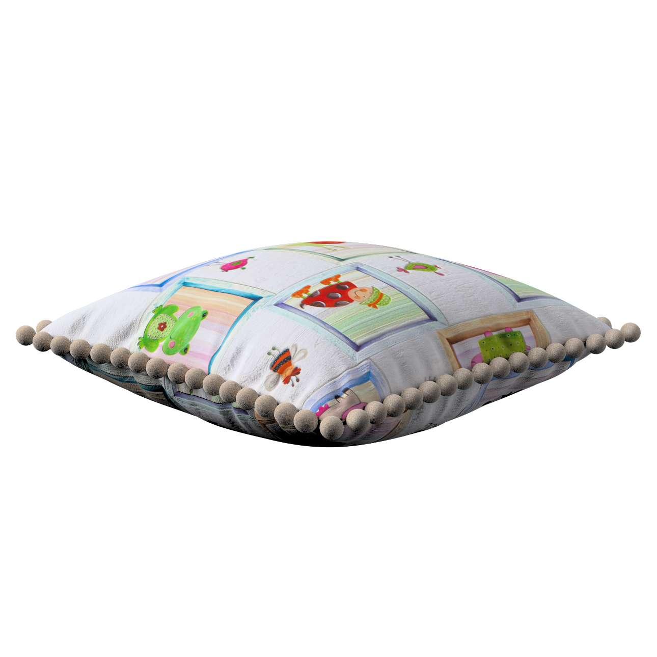 Poszewka Wera na poduszkę 45 x 45 cm w kolekcji Apanona, tkanina: 151-04