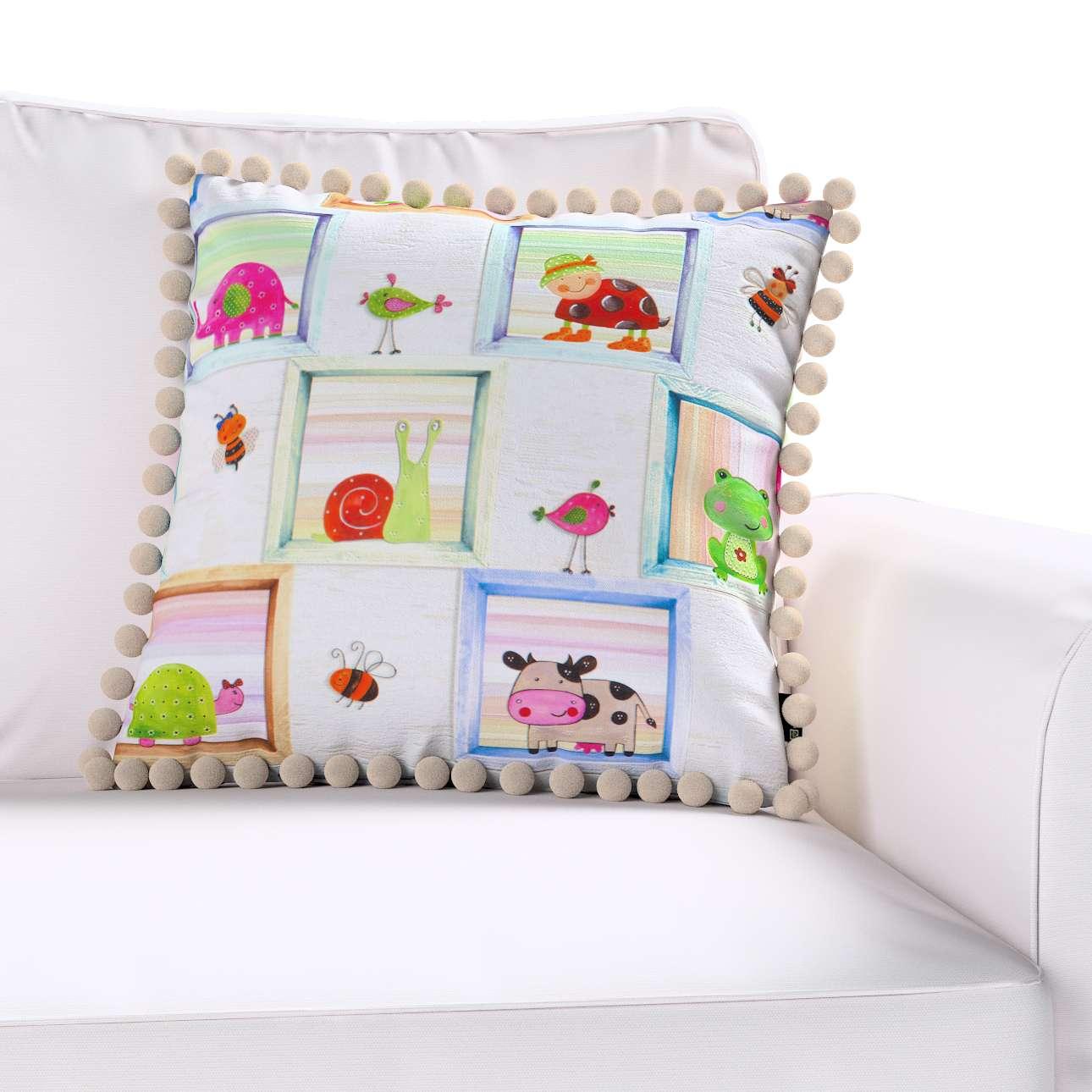 Viera s brmbolcami V kolekcii Little World, tkanina: 151-04