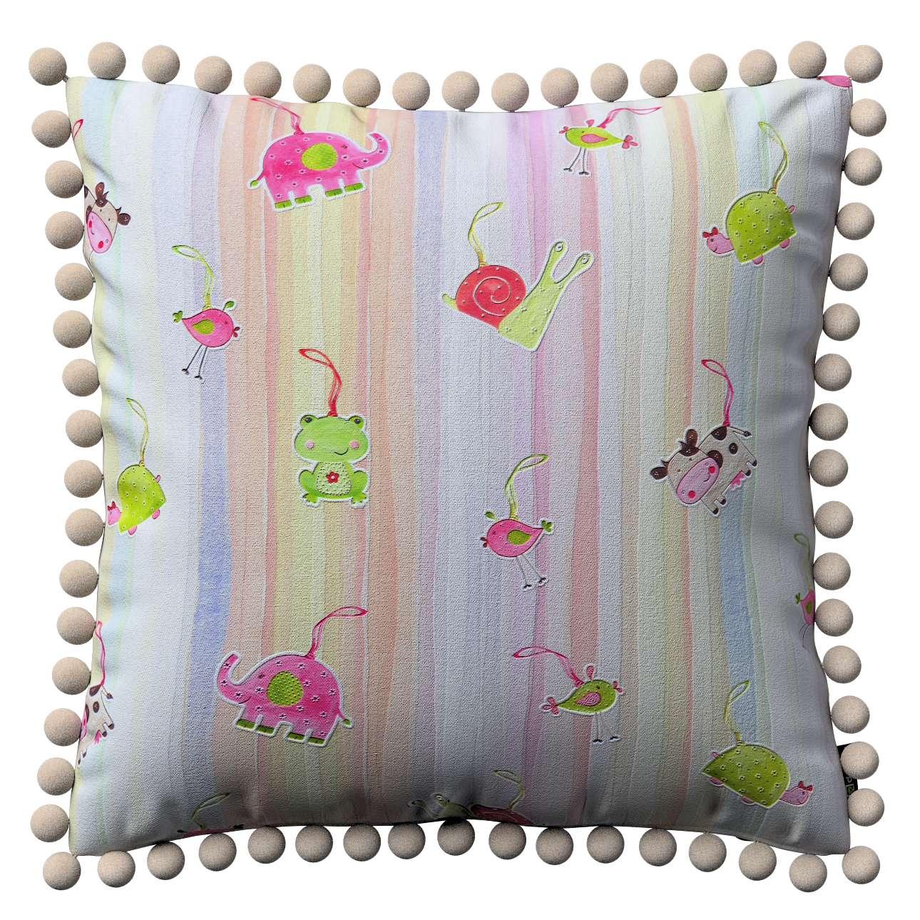 Viera s brmbolcami V kolekcii Little World, tkanina: 151-05