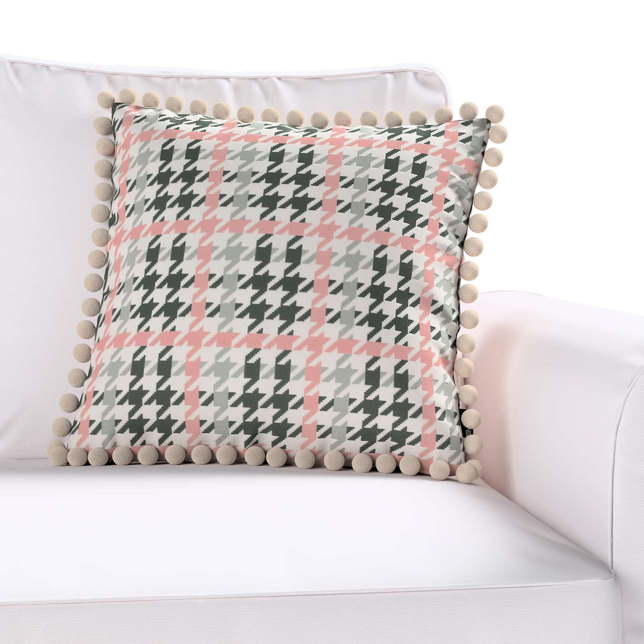 Poszewka Wera na poduszkę 45 x 45 cm w kolekcji Brooklyn, tkanina: 137-75