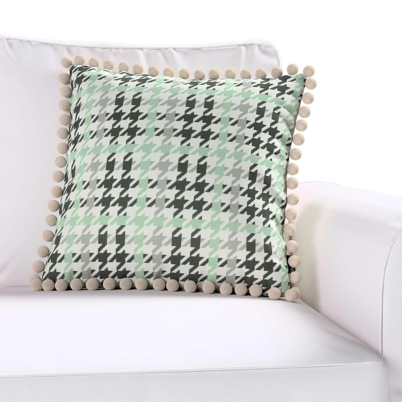 Poszewka Wera na poduszkę w kolekcji Brooklyn, tkanina: 137-77