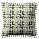 Wera dekoratyvinės pagalvėlės užvalkalas su žaismingais kraštais 45 x 45 cm kolekcijoje Brooklyn, audinys: 137-79