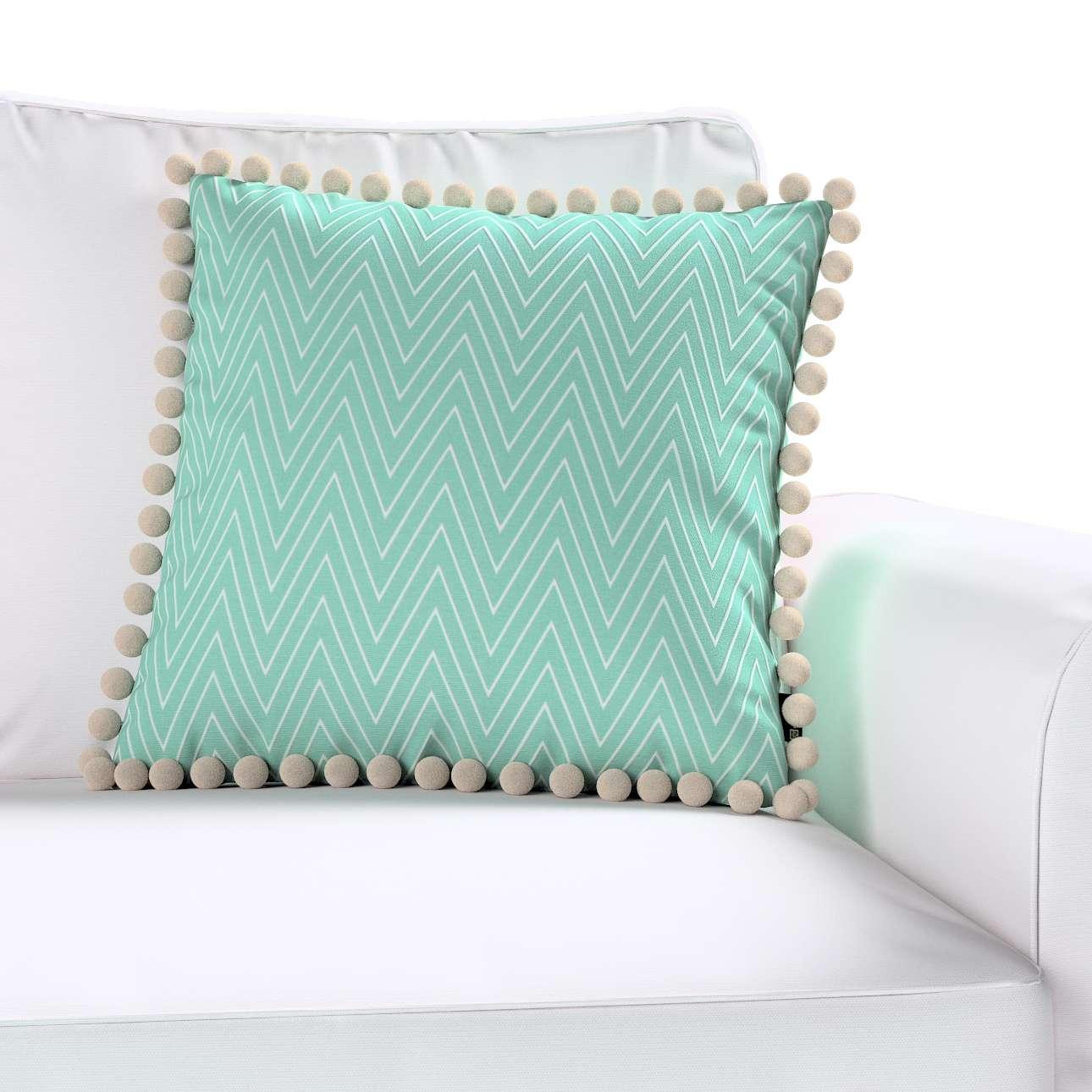 Poszewka Wera na poduszkę 45 x 45 cm w kolekcji Brooklyn, tkanina: 137-90