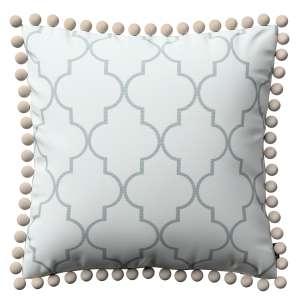 Wera dekoratyvinės pagalvėlės užvalkalas su žaismingais kraštais 45 x 45 cm kolekcijoje Comics Prints, audinys: 137-85
