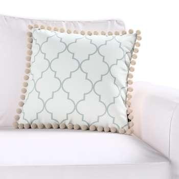 Wera dekoratyvinės pagalvėlės užvalkalas su žaismingais kraštais kolekcijoje Comics Prints, audinys: 137-85