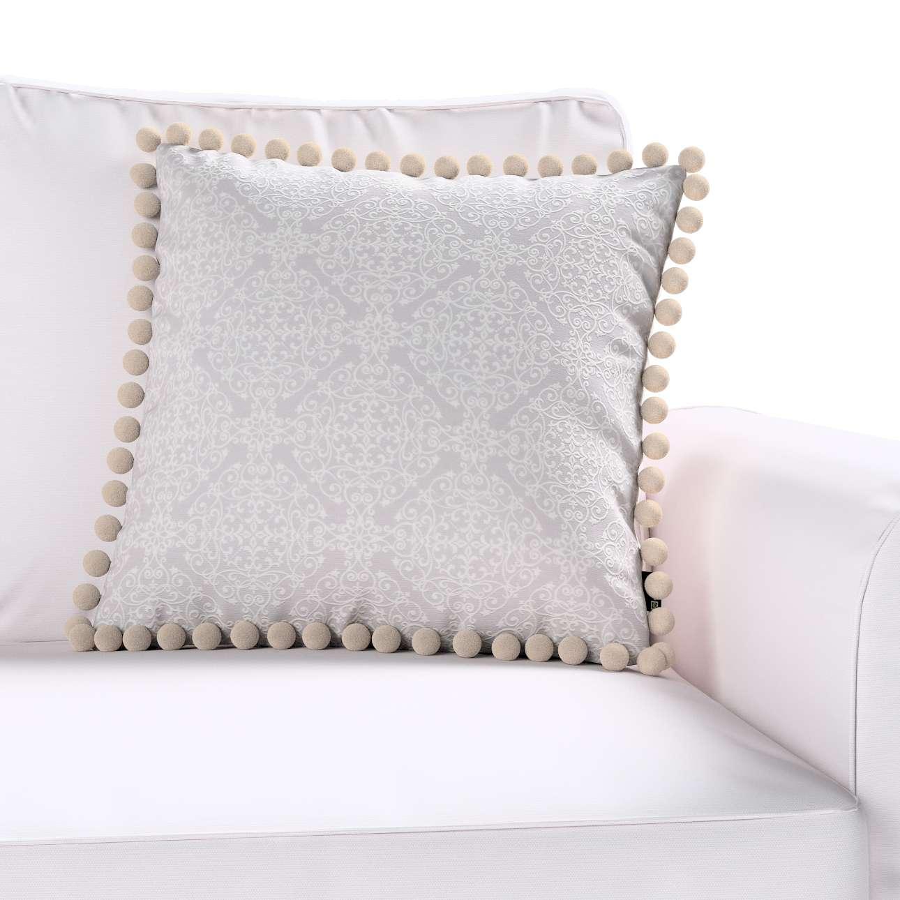 Poszewka Wera na poduszkę 45 x 45 cm w kolekcji Flowers, tkanina: 140-38