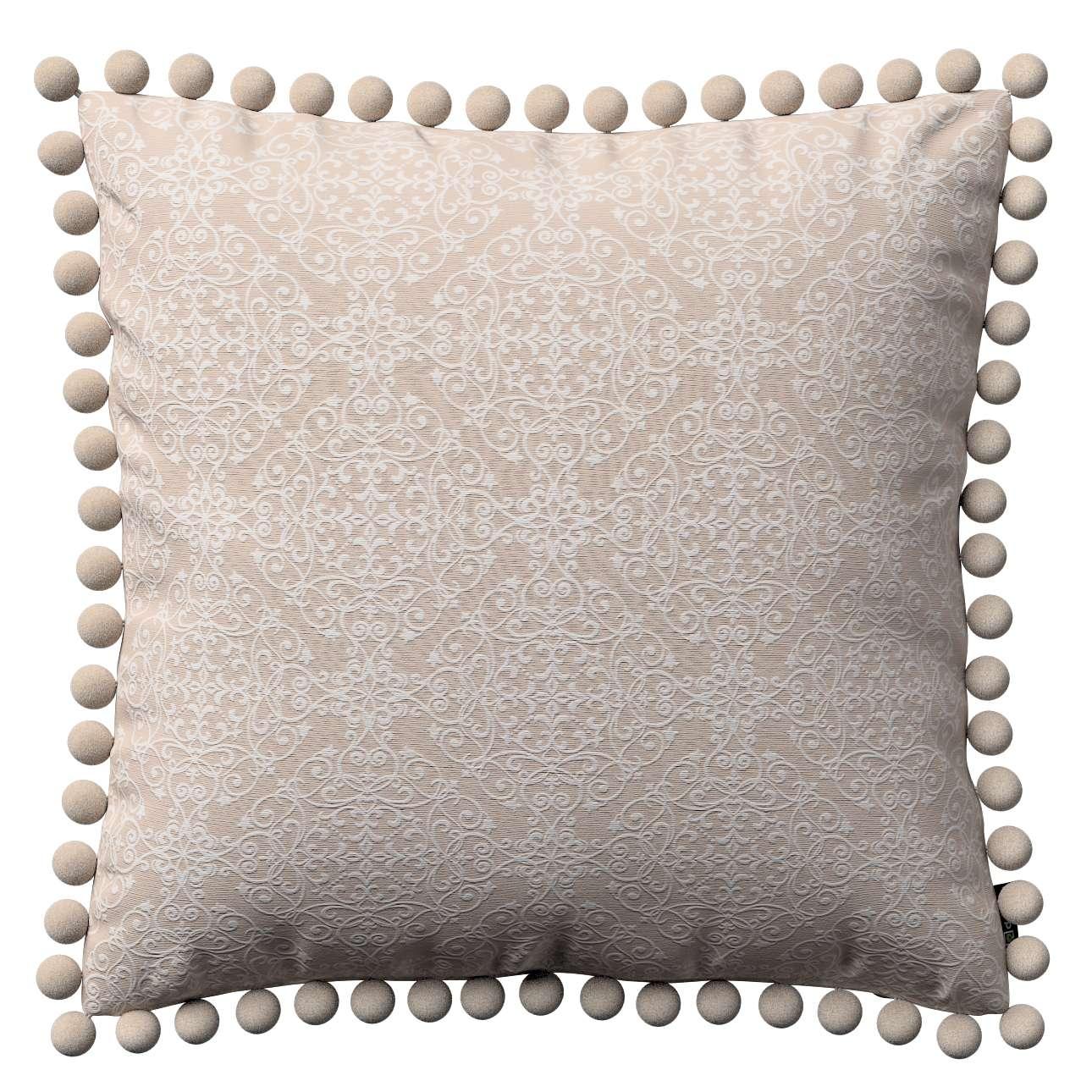Poszewka Wera na poduszkę 45 x 45 cm w kolekcji Flowers, tkanina: 140-39