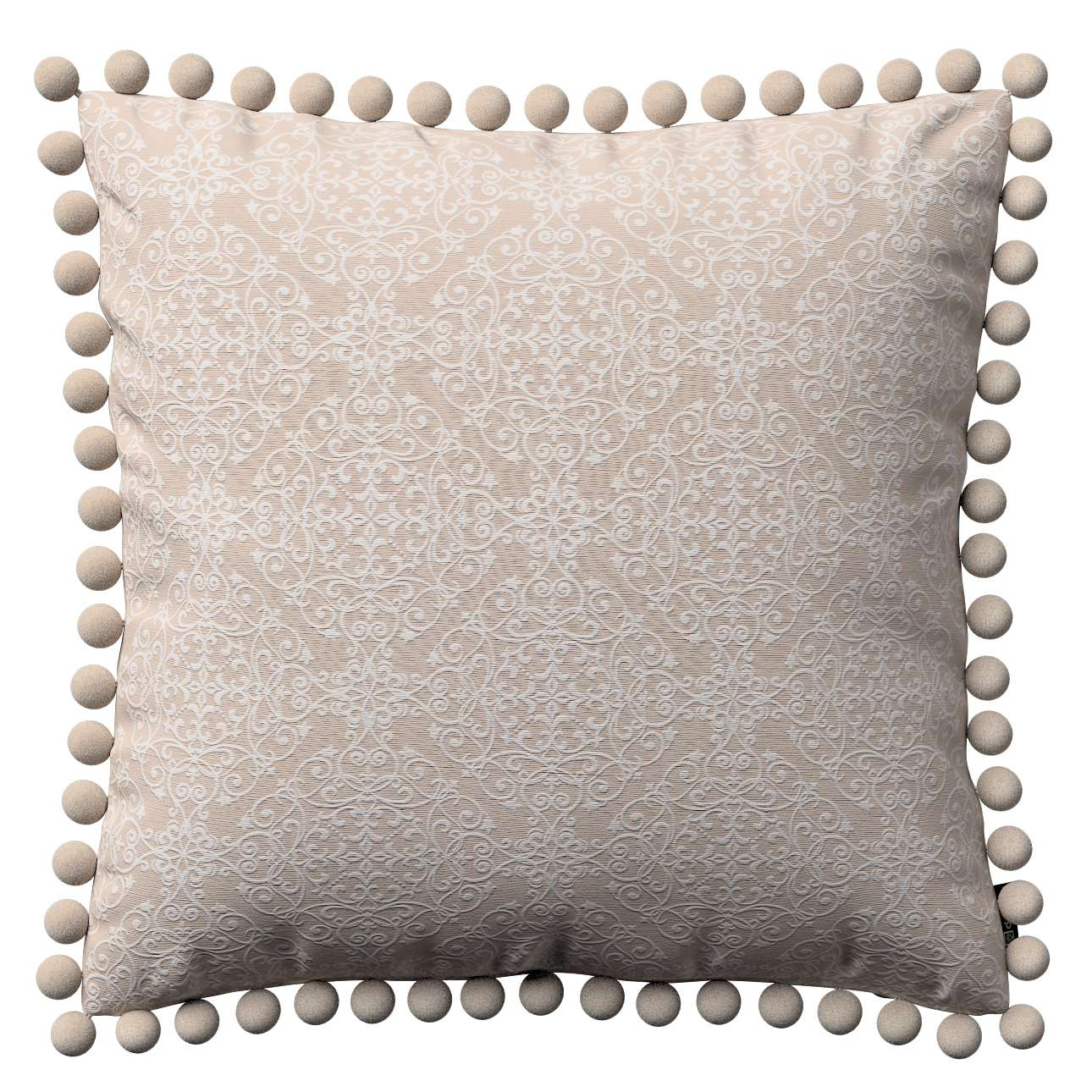 Wera dekoratyvinės pagalvėlės su žaismingais kraštais 45 x 45 cm kolekcijoje Flowers, audinys: 140-39
