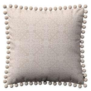 Wera dekoratyvinės pagalvėlės užvalkalas su žaismingais kraštais 45 x 45 cm kolekcijoje Flowers, audinys: 140-39