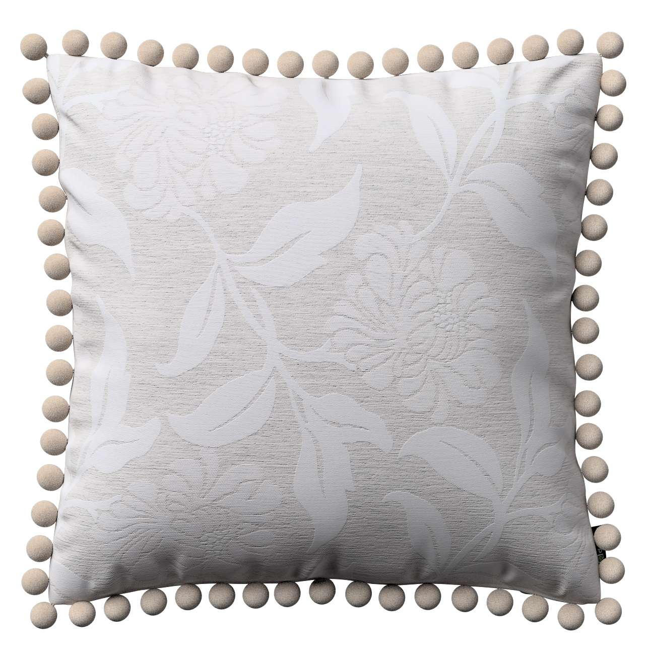 Wera dekoratyvinės pagalvėlės su žaismingais kraštais 45 x 45 cm kolekcijoje Venice, audinys: 140-51