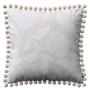 Wera dekoratyvinės pagalvėlės užvalkalas su žaismingais kraštais 45 x 45 cm kolekcijoje Venice, audinys: 140-51