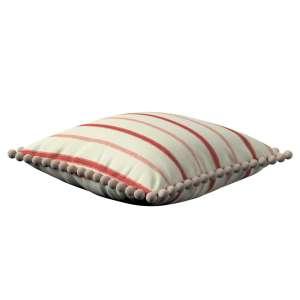 Wera dekoratyvinės pagalvėlės užvalkalas su žaismingais kraštais 45 x 45 cm kolekcijoje Avinon, audinys: 129-15