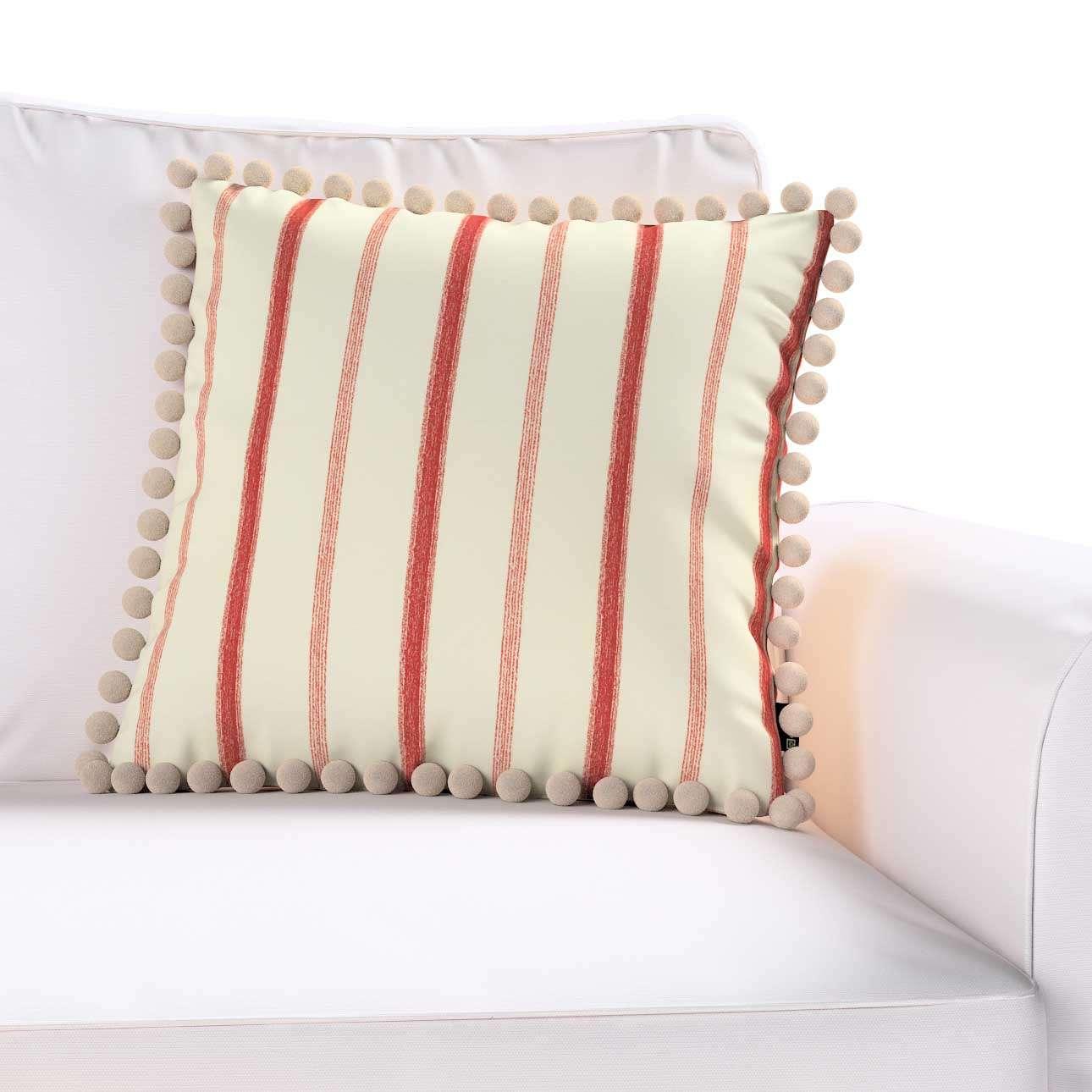 Poszewka Wera na poduszkę w kolekcji Avinon, tkanina: 129-15