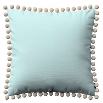 Wera dekoratyvinės pagalvėlės užvalkalas su žaismingais kraštais kolekcijoje Cotton Panama, audinys: 702-10
