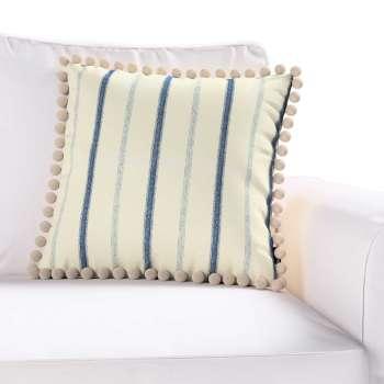 Wera dekoratyvinės pagalvėlės užvalkalas su žaismingais kraštais 45 × 45 cm kolekcijoje Avinon, audinys: 129-66