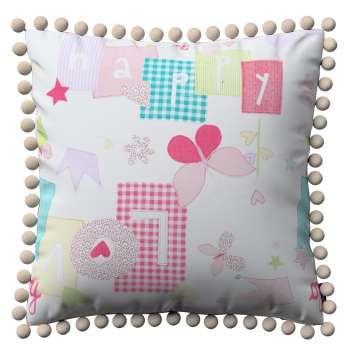 Tyynynpäällinen<br/>Vera tupsuilla mallistosta Little World, Kangas: 141-51