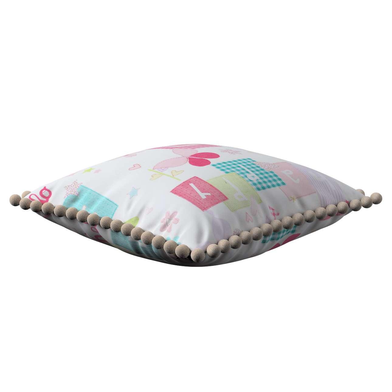 Poszewka Wera na poduszkę w kolekcji Little World, tkanina: 141-51