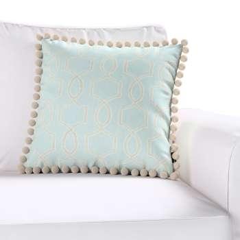 Wera dekoratyvinės pagalvėlės užvalkalas su žaismingais kraštais 45 × 45 cm kolekcijoje Comics Prints, audinys: 141-24