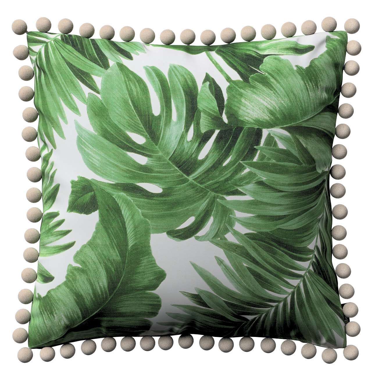 Poszewka Wera na poduszkę w kolekcji Tropical Island, tkanina: 141-71