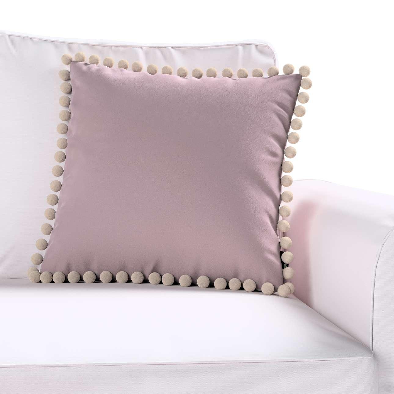 Poszewka Wera na poduszkę 45 x 45 cm w kolekcji Velvet, tkanina: 704-14