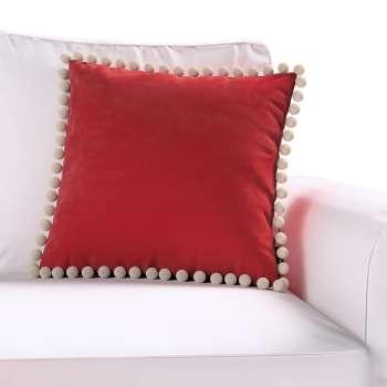 Poszewka Wera na poduszkę w kolekcji Velvet, tkanina: 704-15