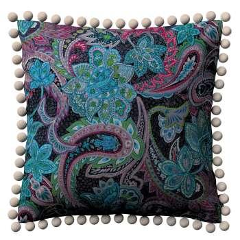 Wera dekoratyvinės pagalvėlės užvalkalas su žaismingais kraštais kolekcijoje Velvet/Aksomas, audinys: 704-22