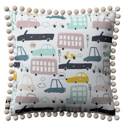 Daisy pagalvėlės užvalkalas  pom poms 500-02  Kolekcija Magic Collection