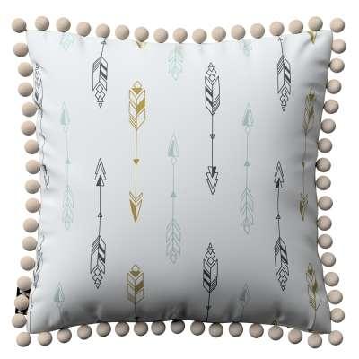 Daisy pagalvėlės užvalkalas  pom poms 500-07  Kolekcija Magic Collection