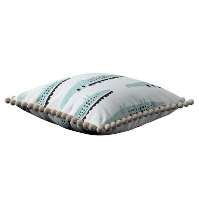 Daisy pagalvėlės užvalkalas  pom poms 500-11  Kolekcija Magic Collection