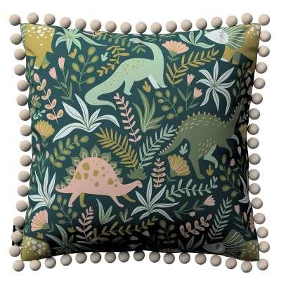Poszewka Daisy 500-20 Dinozaury na zielonym tle Kolekcja Magic Collection