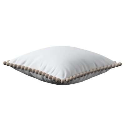 Daisy pagalvėlės užvalkalas  pom poms 133-02 balta Kolekcija Happiness