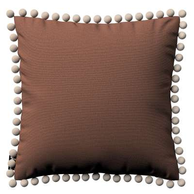 Daisy cushion covers with pom poms in collection Happiness, fabric: 133-09