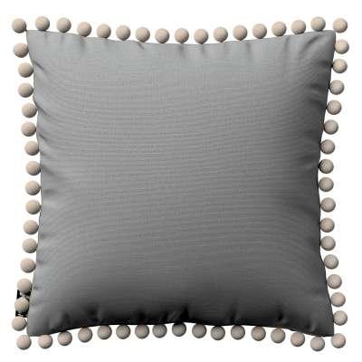 Daisy pagalvėlės užvalkalas  pom poms 133-24 pilka Kolekcija Happiness