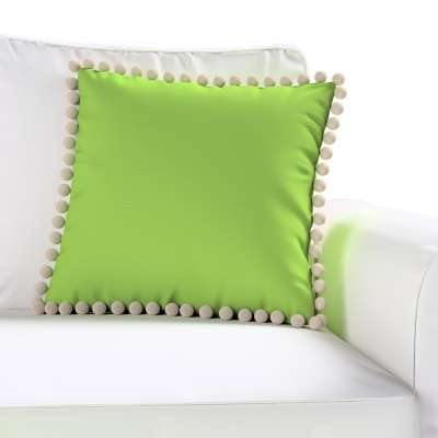 Daisy cushion covers with pom poms in collection Cotton Story, fabric: 702-27
