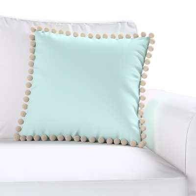 Daisy cushion covers with pom poms in collection Cotton Story, fabric: 702-10