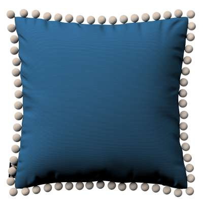 Daisy cushion covers with pom poms in collection Cotton Story, fabric: 702-30
