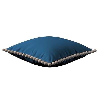 Daisy pagalvėlės užvalkalas  pom poms 702-30 tamsi mėlyna Kolekcija Cotton Story