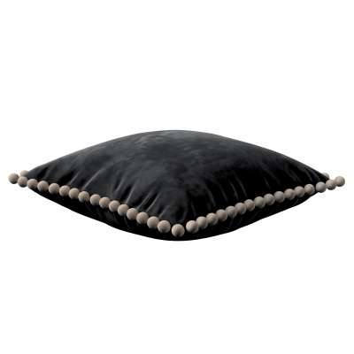 Povlak Daisy 704-17 tmavě černá Kolekce Posh Velvet