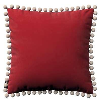 Povlak Daisy 704-15 intenzivní červená Kolekce Posh Velvet