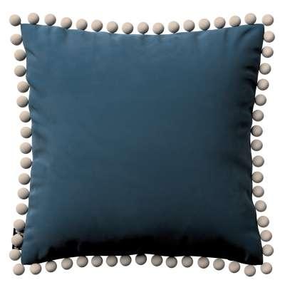 Kissenbezug Daisy 704-16 blau Kollektion Posh Velvet