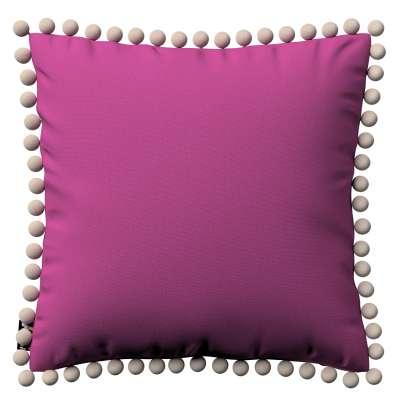 Daisy pagalvėlės užvalkalas  pom poms 705-23 fuksijų Kolekcija Lillipop