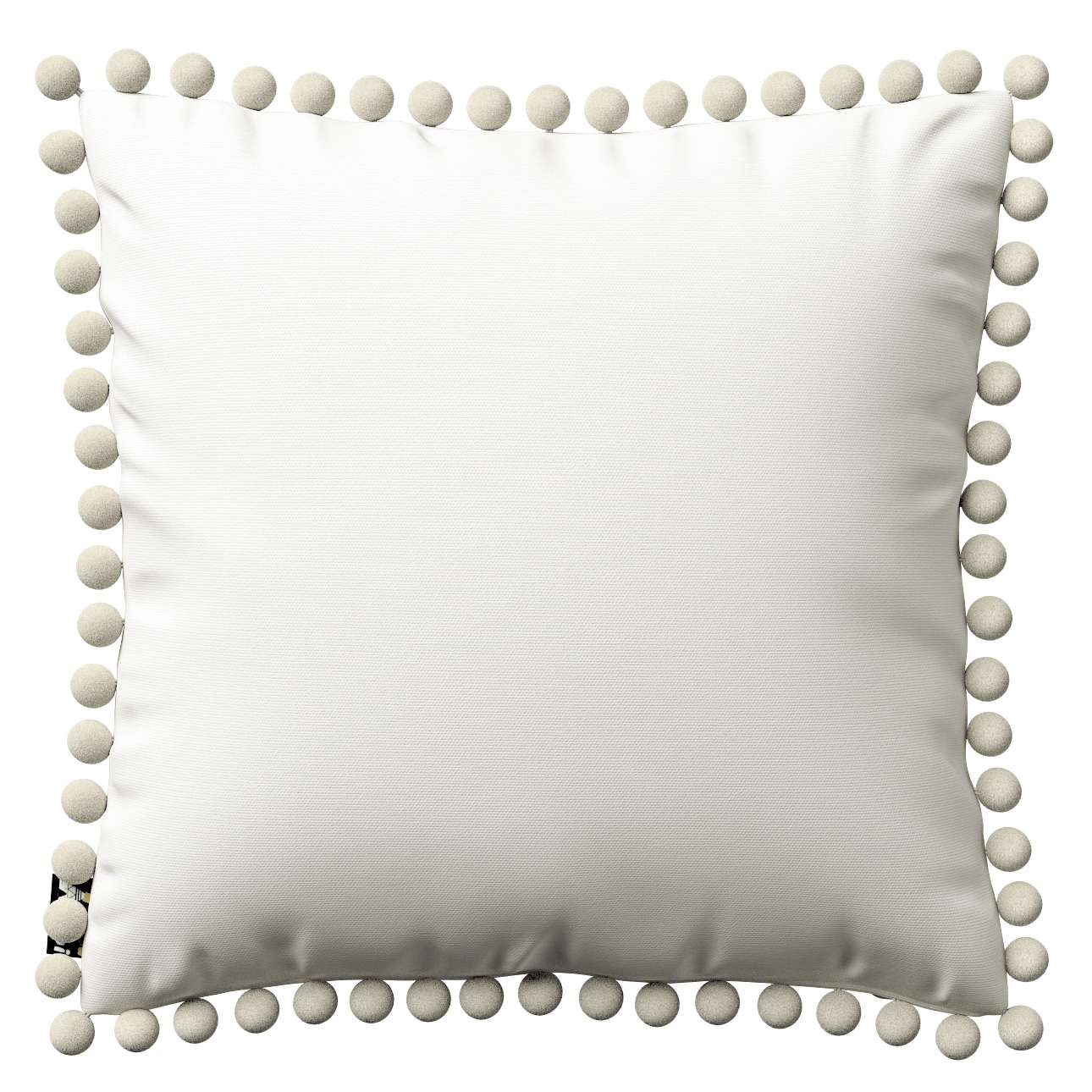 Daisy cushion covers with pom poms in collection Cotton Story, fabric: 702-34
