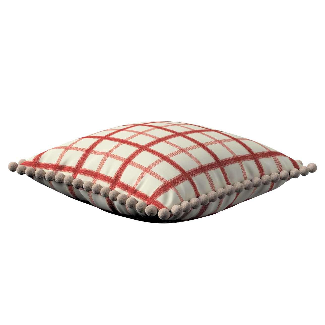 Wera dekoratyvinės pagalvėlės su žaismingais kraštais 45 x 45 cm kolekcijoje Avinon, audinys: 131-15