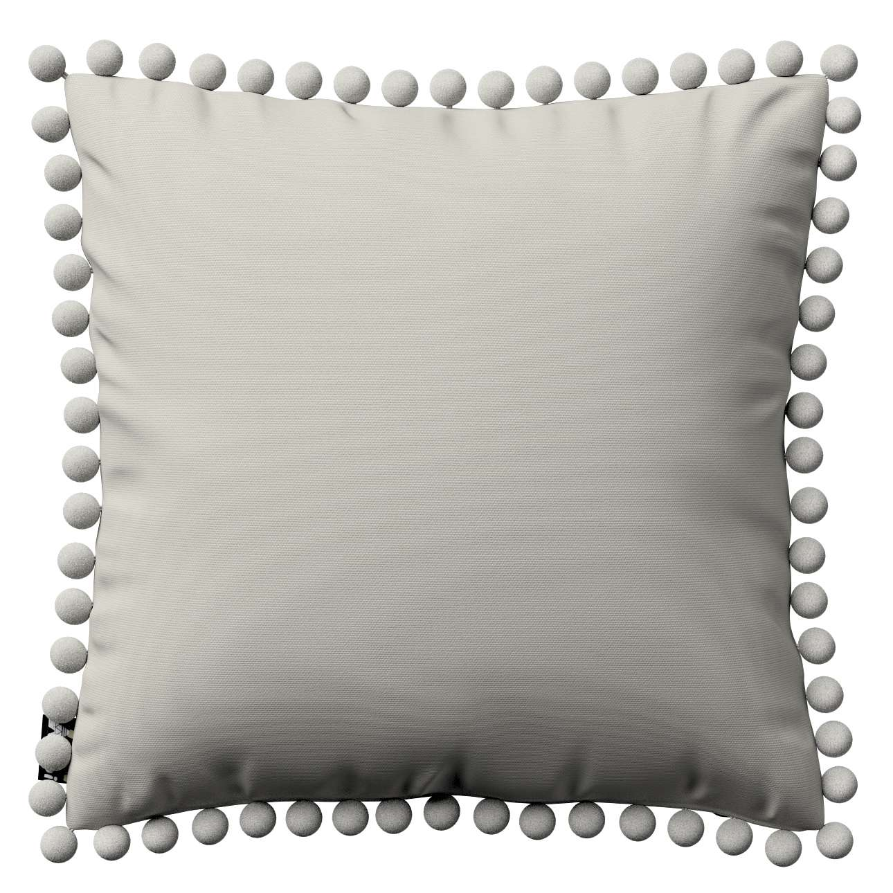 Daisy cushion covers with pom poms in collection Cotton Story, fabric: 702-31