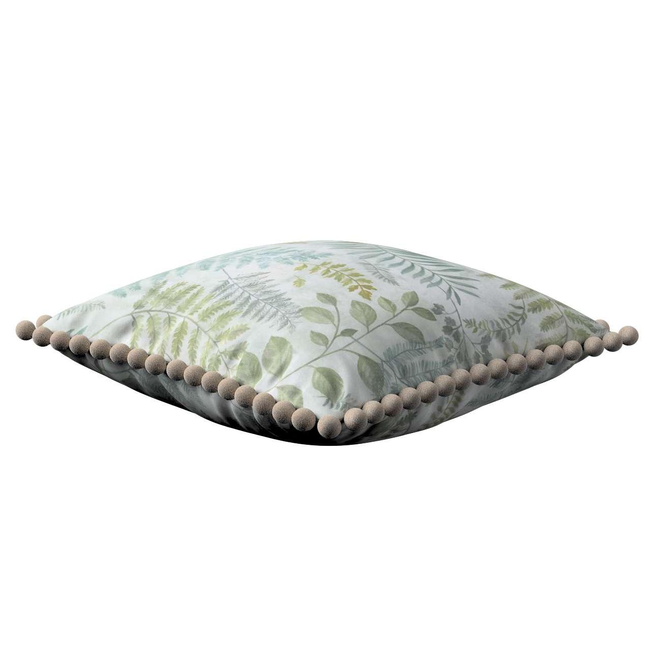 Poszewka Wera na poduszkę w kolekcji Pastel Forest, tkanina: 142-46