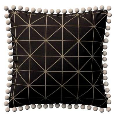 Viera s brmbolcami V kolekcii Black & White, tkanina: 142-55