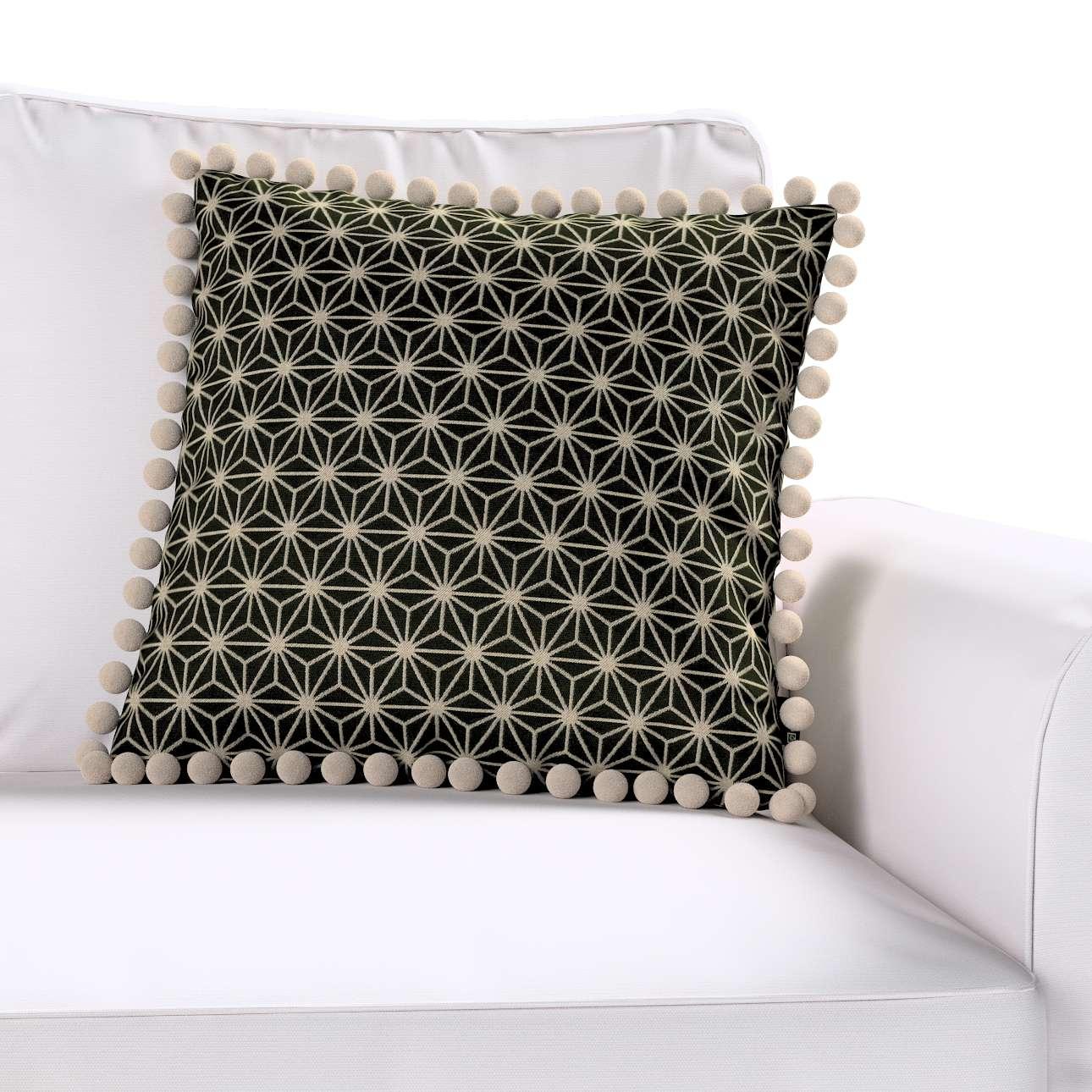 Viera s brmbolcami V kolekcii Black & White, tkanina: 142-56